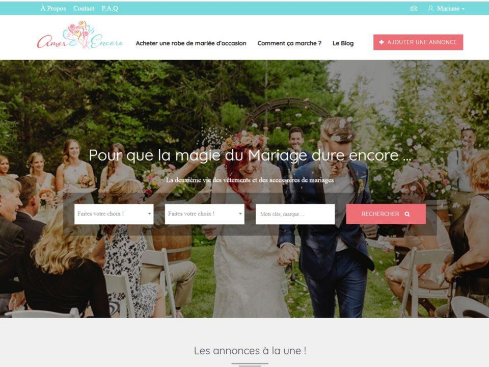Vendre sa robe de mariée sur internet
