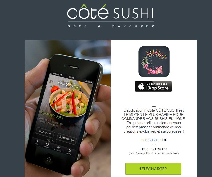 application cotesushi
